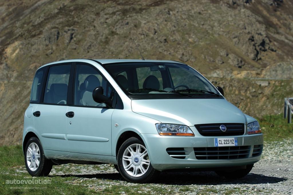 Fiat Multipla 2004 2005 2006 2007 2008 2009 2010