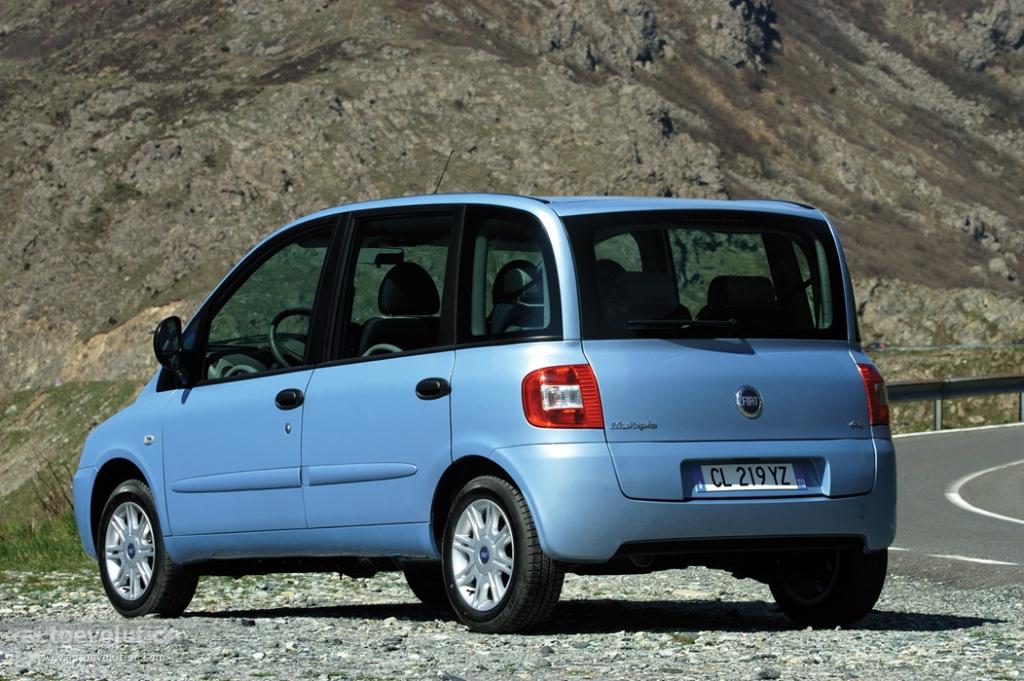 Fiat Multipla Specs 2004 2005 2006 2007 2008 2009 2010 Autoevolution