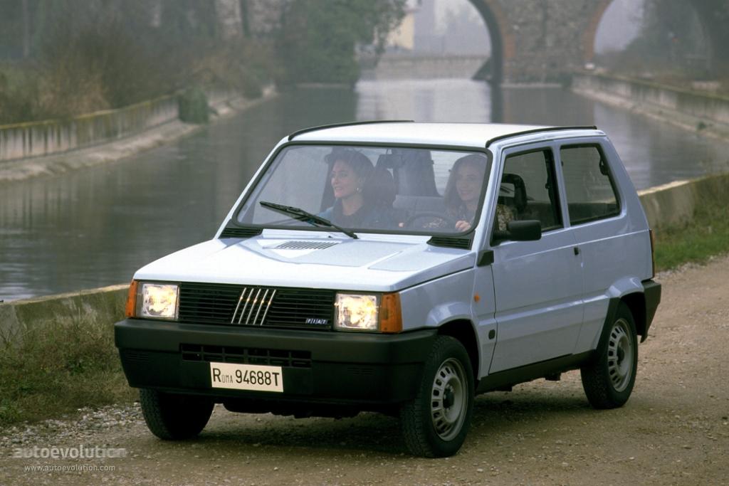Fiat Panda 1986 1987 1988 1989 1990 1991 1992