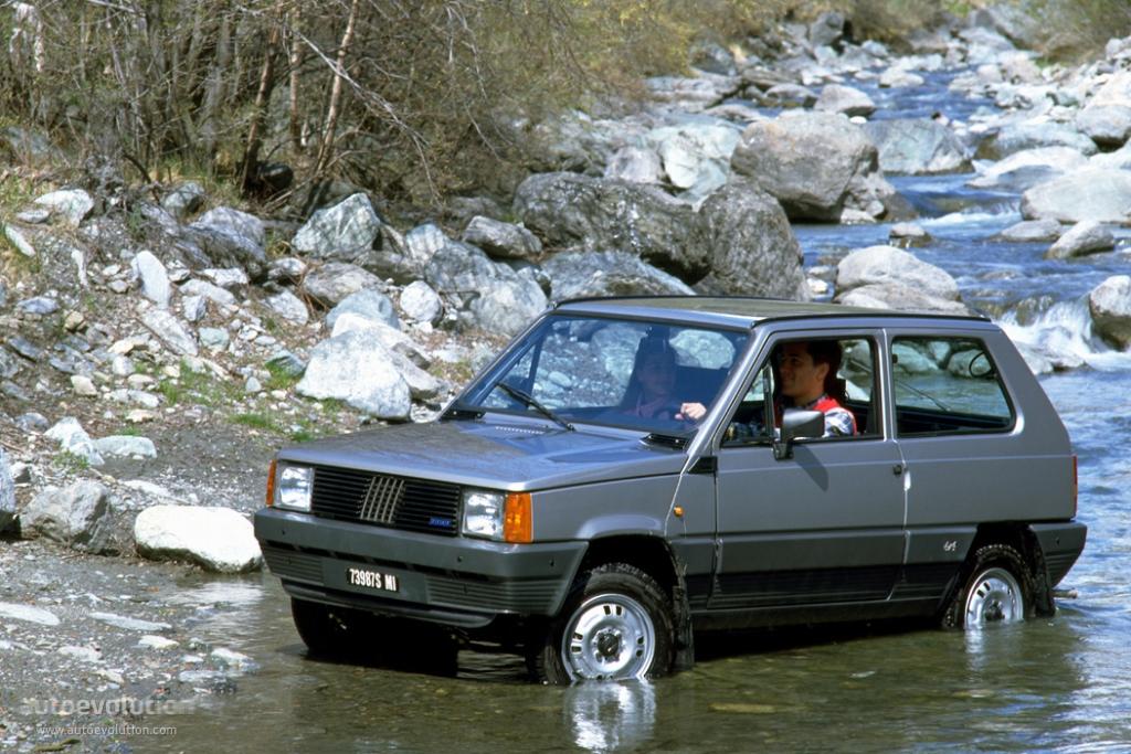 Fiat panda 4x4 1990 1990 fiat panda 4x4 anglia car for Panda 4x4 sisley scheda tecnica
