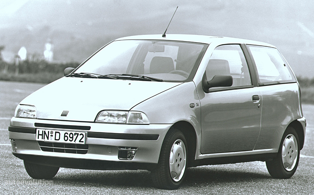 Fiat Punto 3 Doors 1994 on 5 7 engines gmc