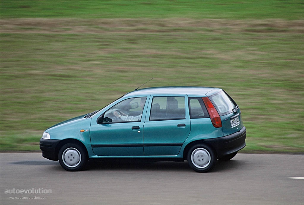 Fiat Punto 5 Doors 1994 on 5 7 engines gmc