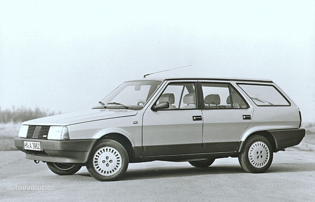 Fiat Regata Weekend Specs 1986 1987 1988 1989
