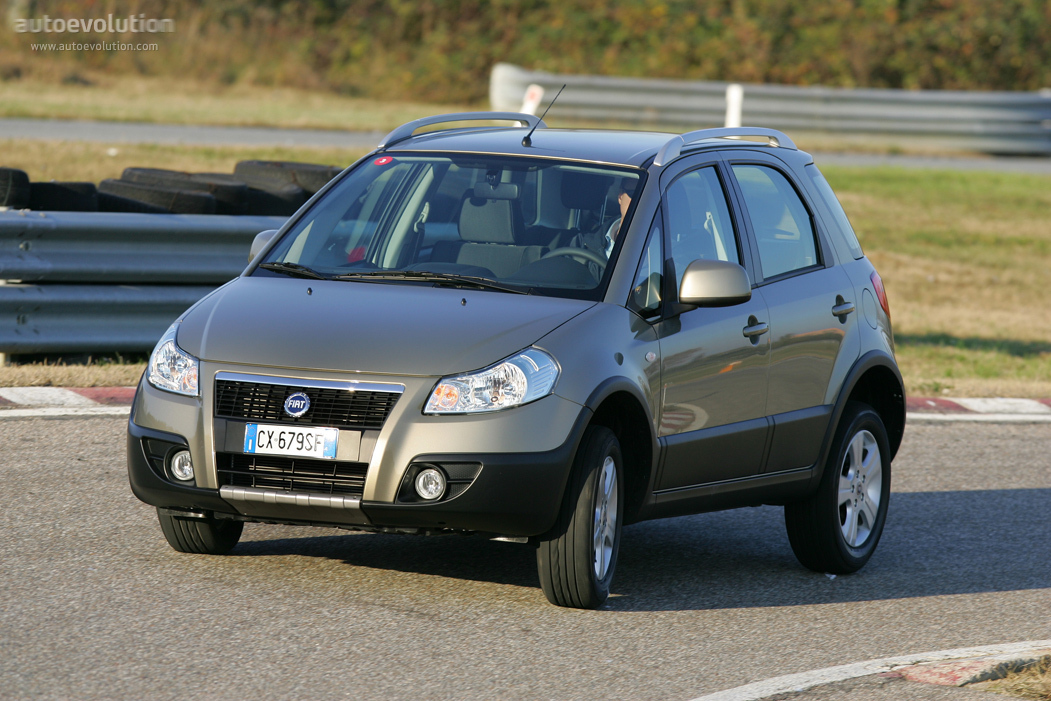 FIAT Sedici specs - 2006, 2007, 2008, 2009 - autoevolution