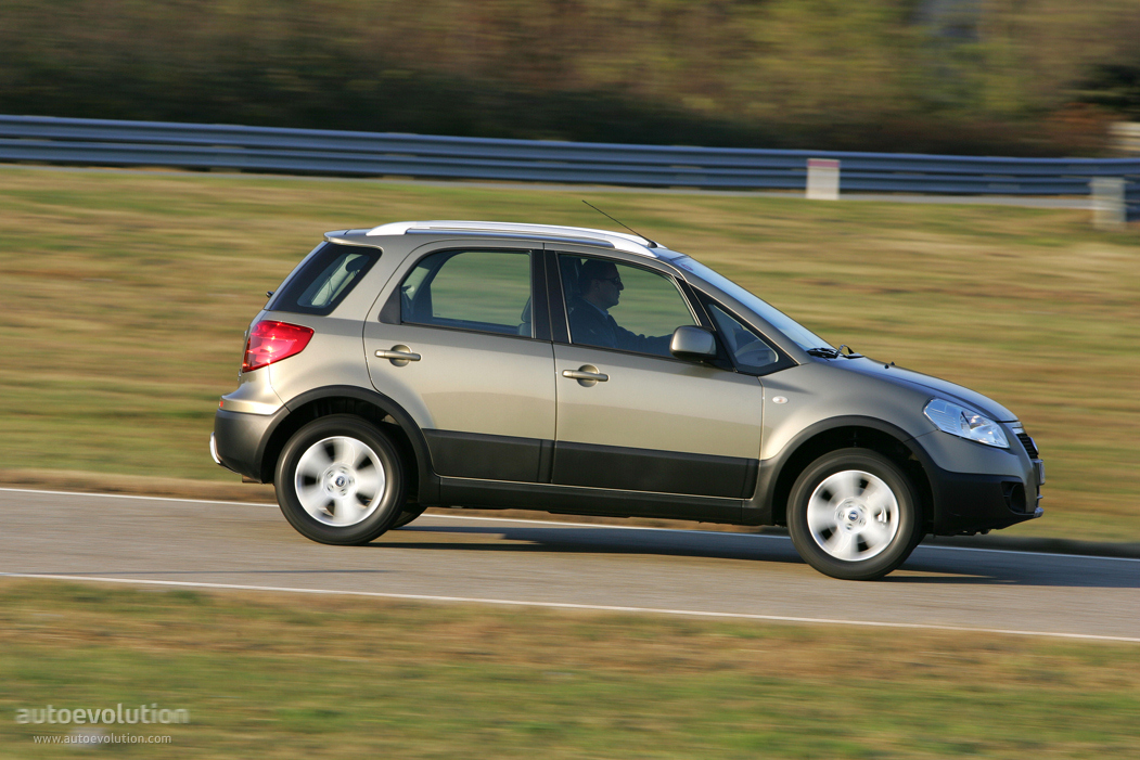 Fiat Sedici 2006 2007 2008 2009 Autoevolution
