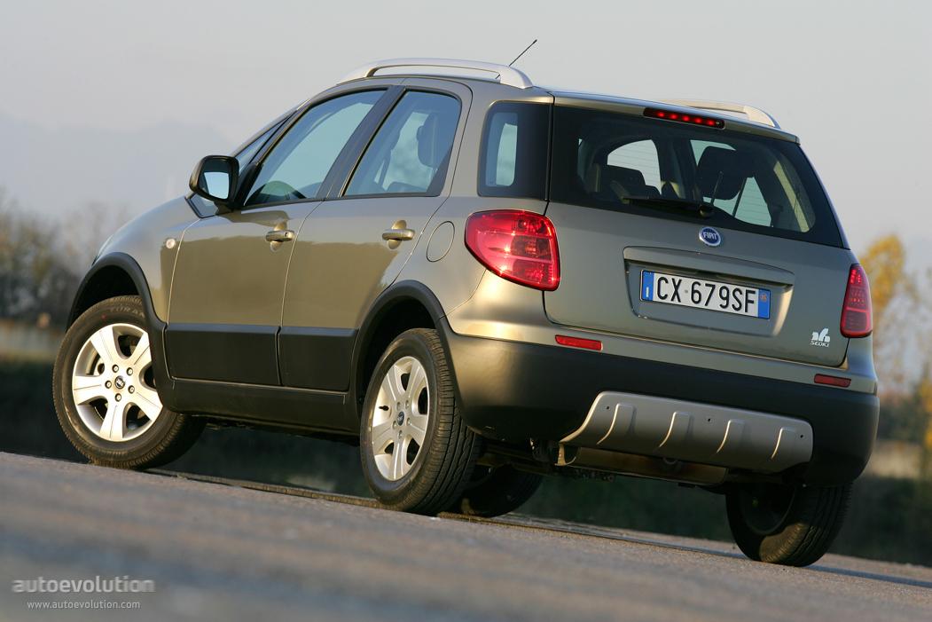 Fiat Sedici Specs Amp Photos 2006 2007 2008 2009