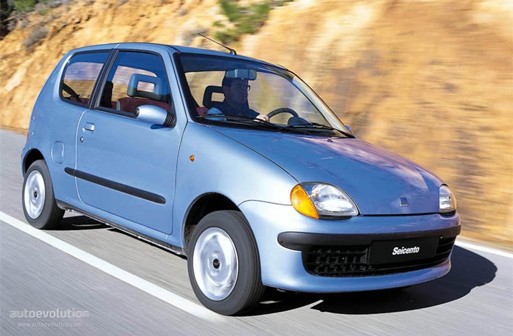 Fiat Seicento Specs 1998 1999 2000 2001 Autoevolution