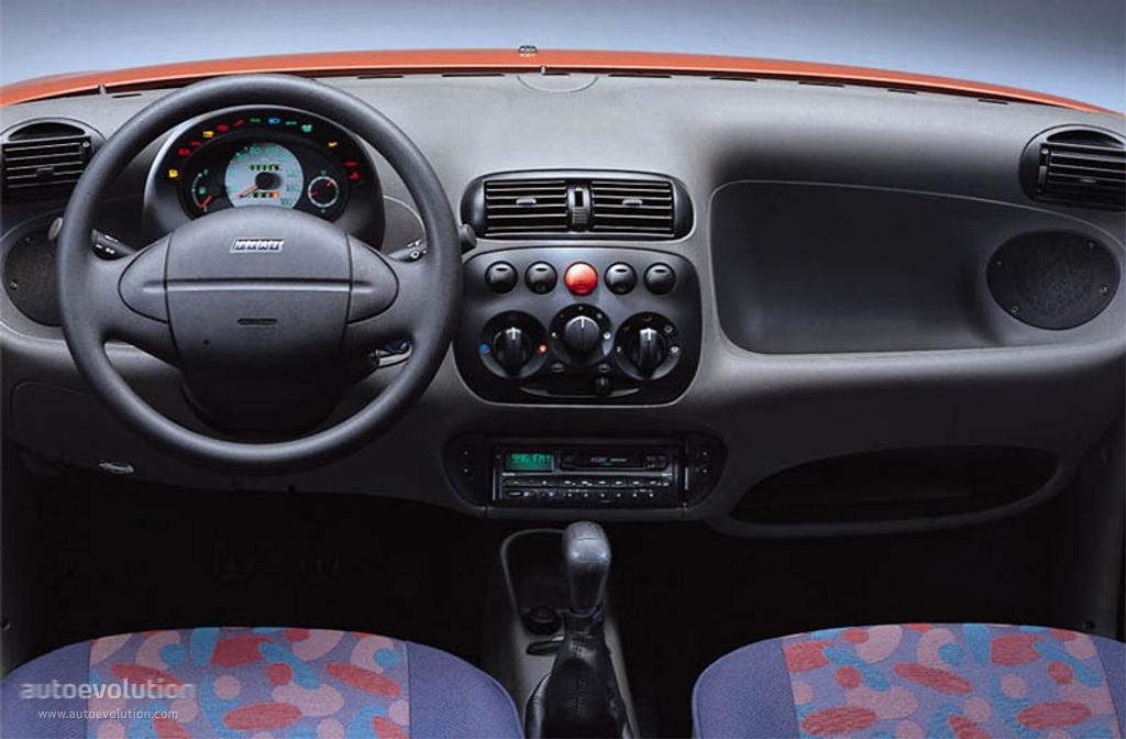 Fiat seicento specs 1998 1999 2000 2001 autoevolution for Interieur a3 2000