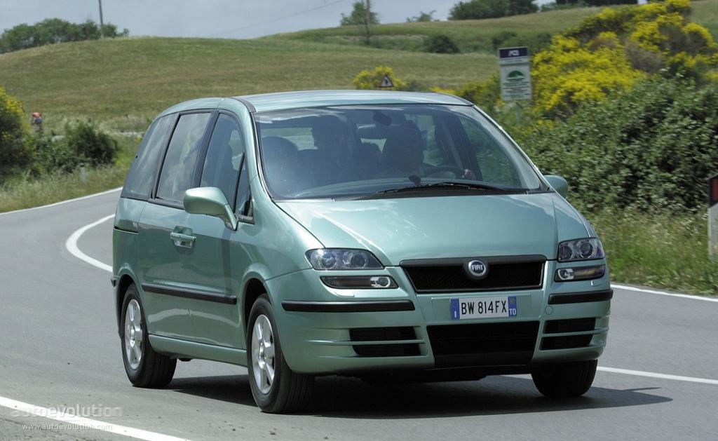 Fiat Ulysse 2002 2003 2004 2005 2006 2007