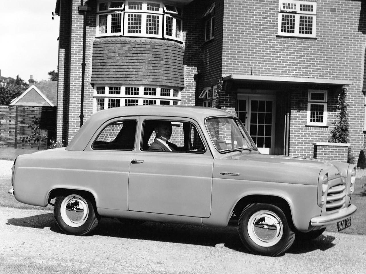 FORD Anglia 100E specs - 1953, 1954, 1955, 1956, 1957, 1958, 1959 - autoevolution