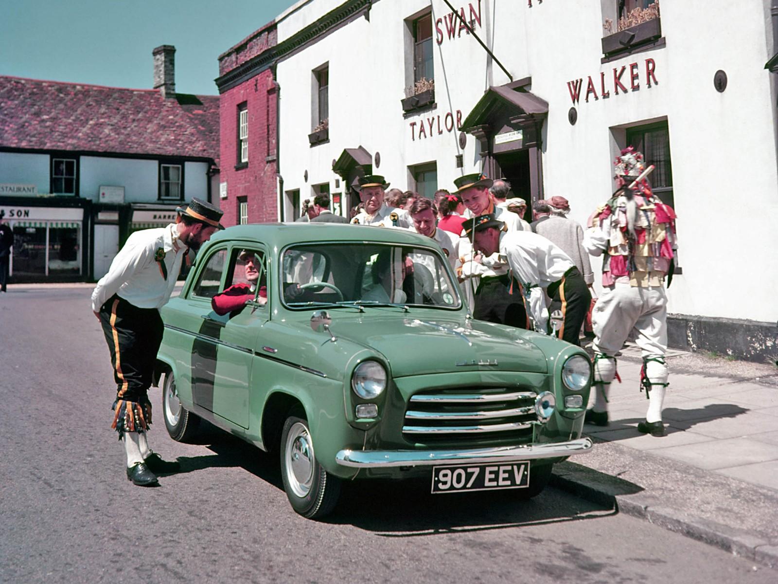 Ford Anglia 100e Specs Amp Photos 1953 1954 1955 1956