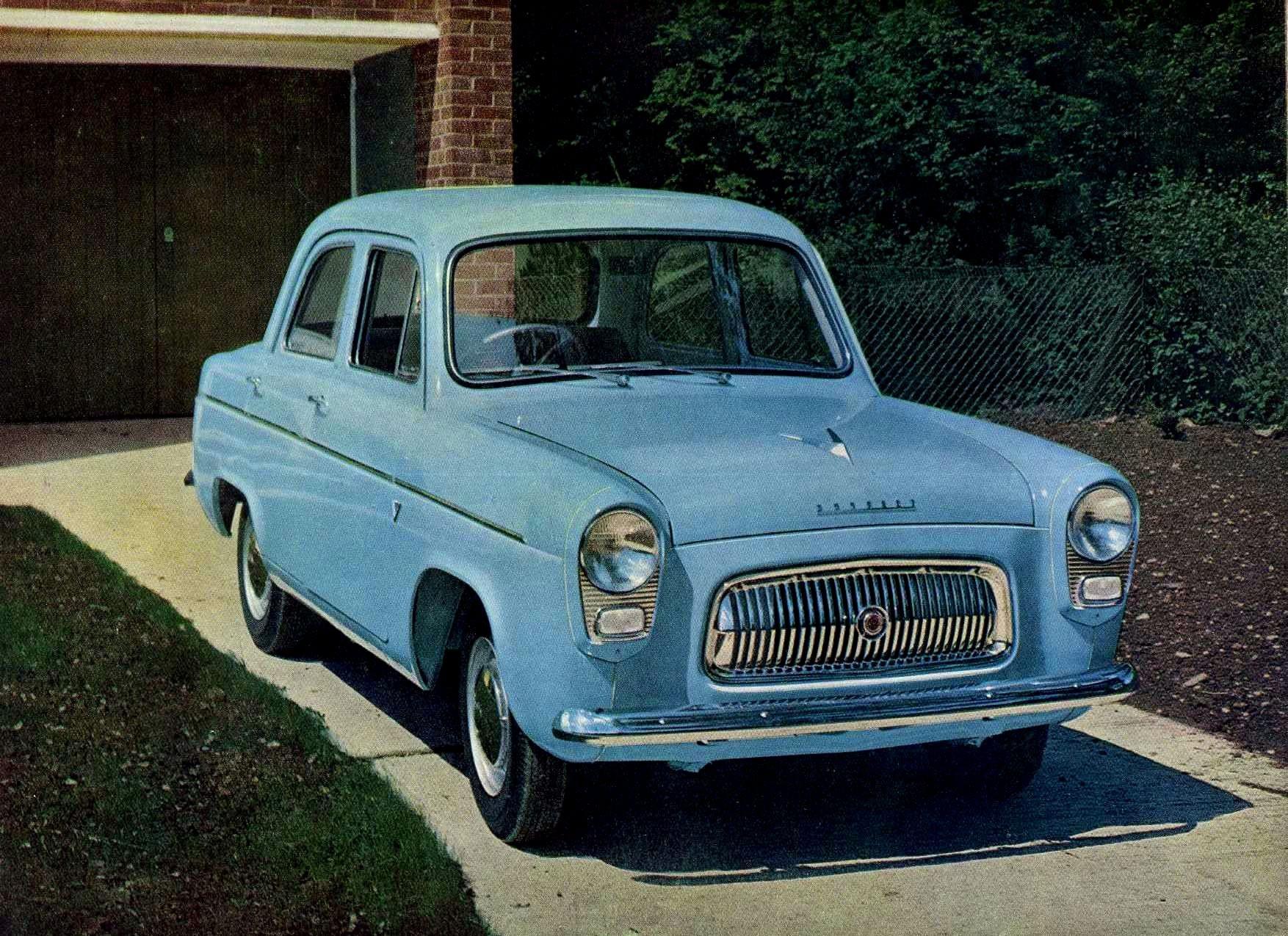 FORD Anglia 100E specs & photos - 1953, 1954, 1955, 1956, 1957, 1958, 1959 - autoevolution