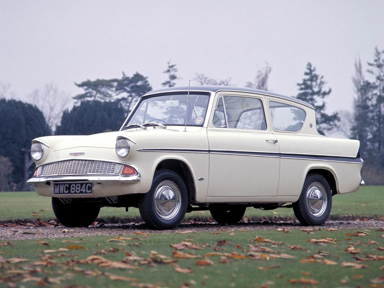 FORD Anglia 105E specs & photos - 1959, 1960, 1961, 1962 ...