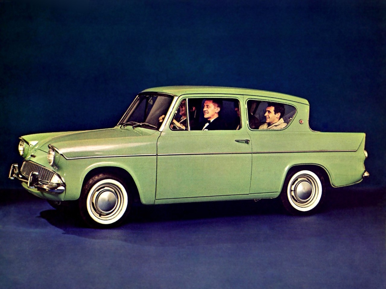 FORD Anglia 105E specs - 1959, 1960, 1961, 1962, 1963 ...