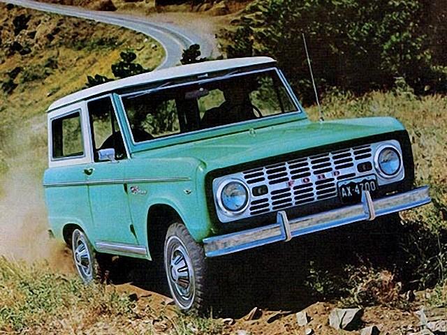 Ford Bronco Specs Photos 1966 1967 1968 1969 1970 1971