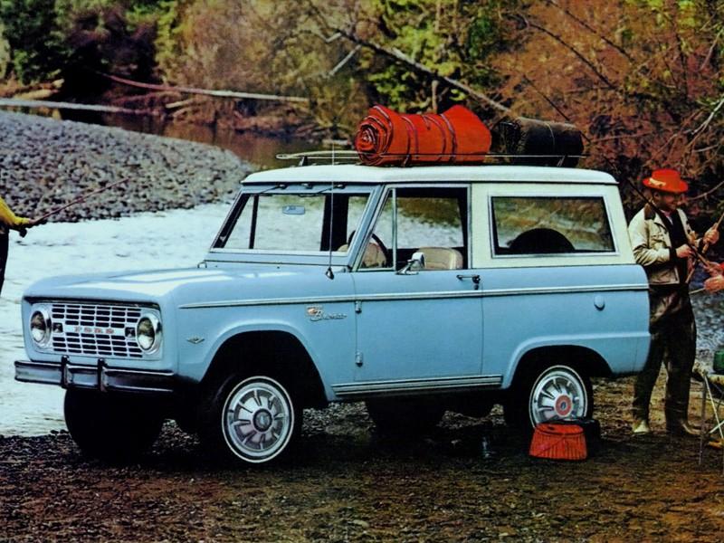 FORD Bronco specs & photos - 1966, 1967, 1968, 1969, 1970 ...