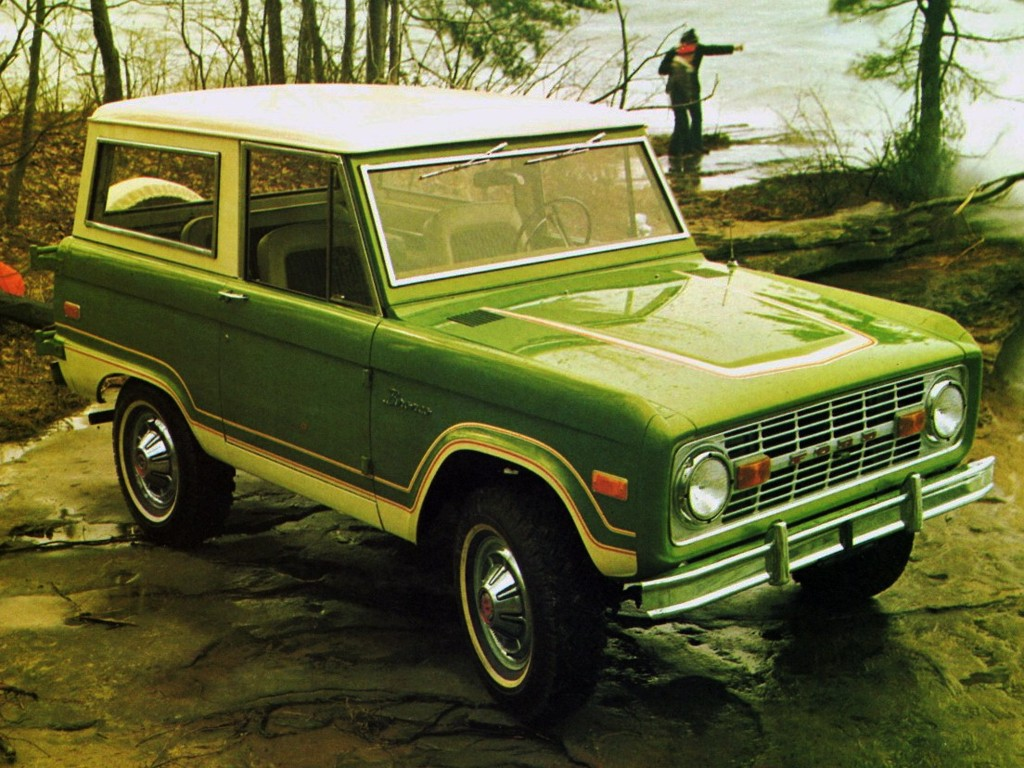 FORD Bronco specs & photos - 1966, 1967, 1968, 1969, 1970, 1971, 1972, 1973, 1974, 1975, 1976 ...