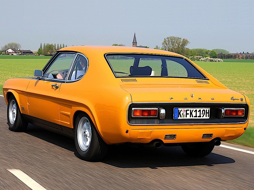 Ford Capri 1970 Thunderbird Specs Photos 1969 1971 1972 1973 1974