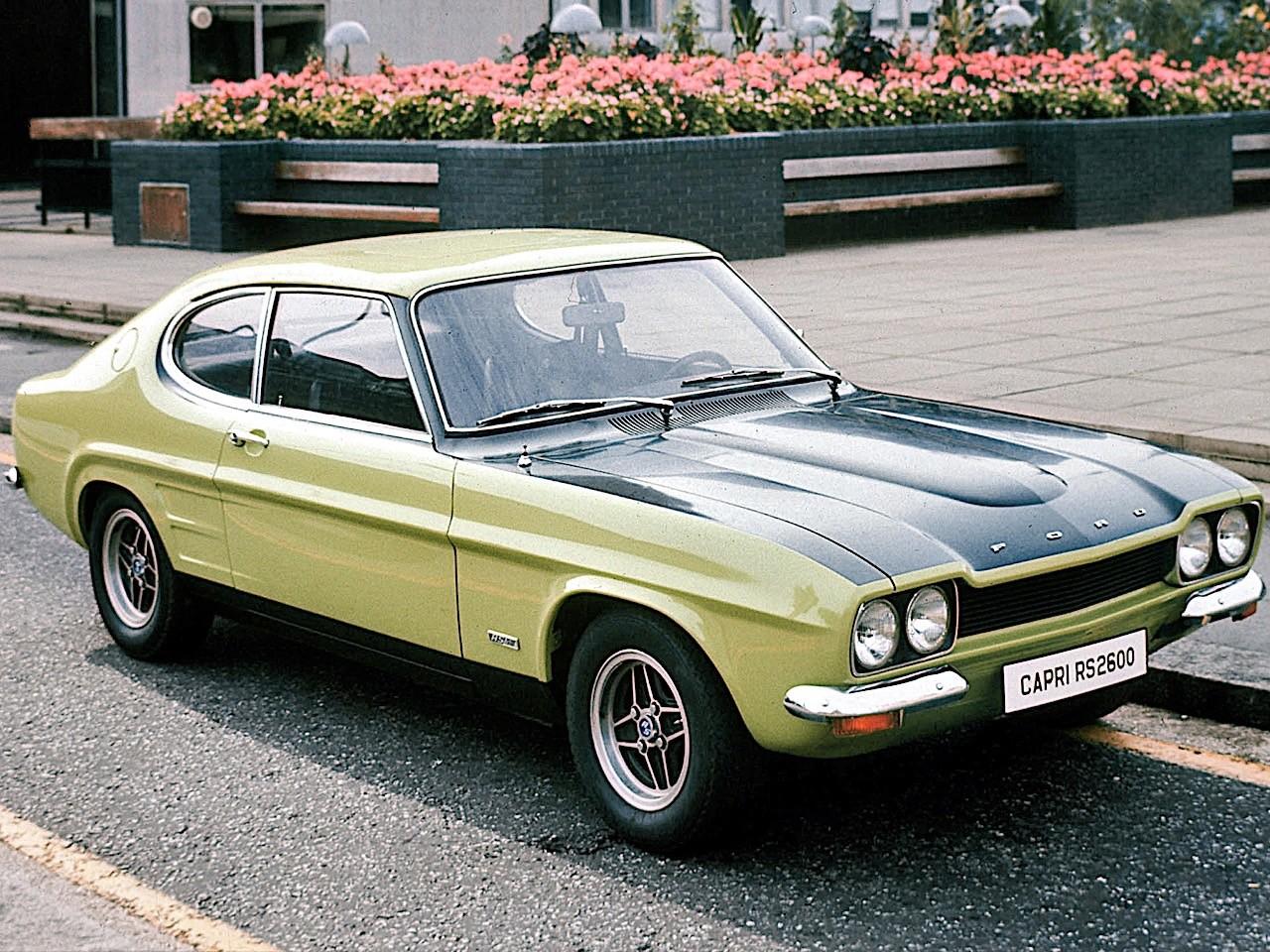 Ford Capri Specs Photos 1969 1970 1971 1972 1973 1974