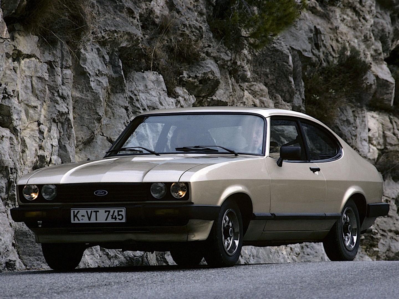 Ford Capri Specs 1978 1979 1980 1981 1982 1983