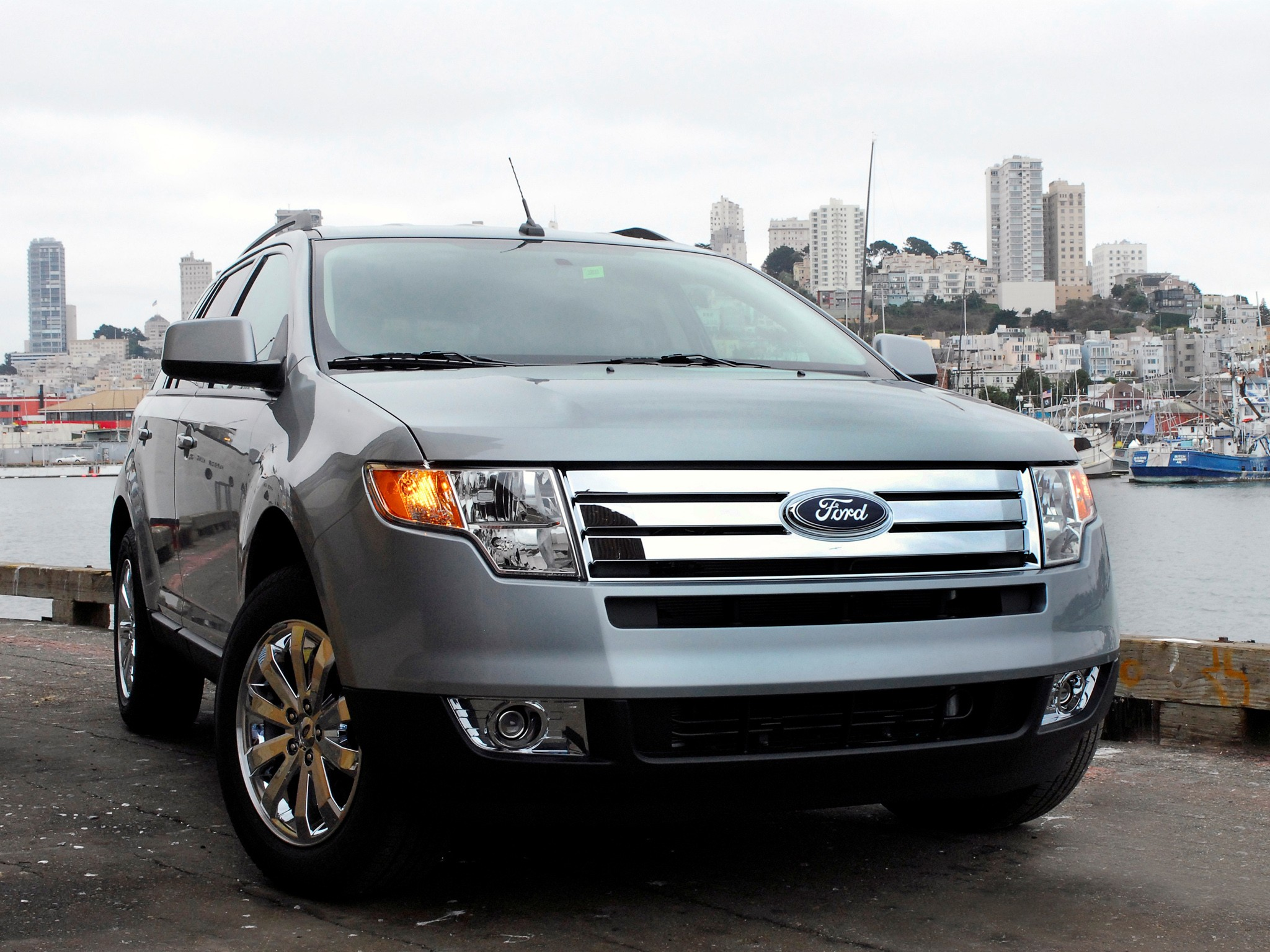 Ford Edge on Ford Duratec V6 Engine