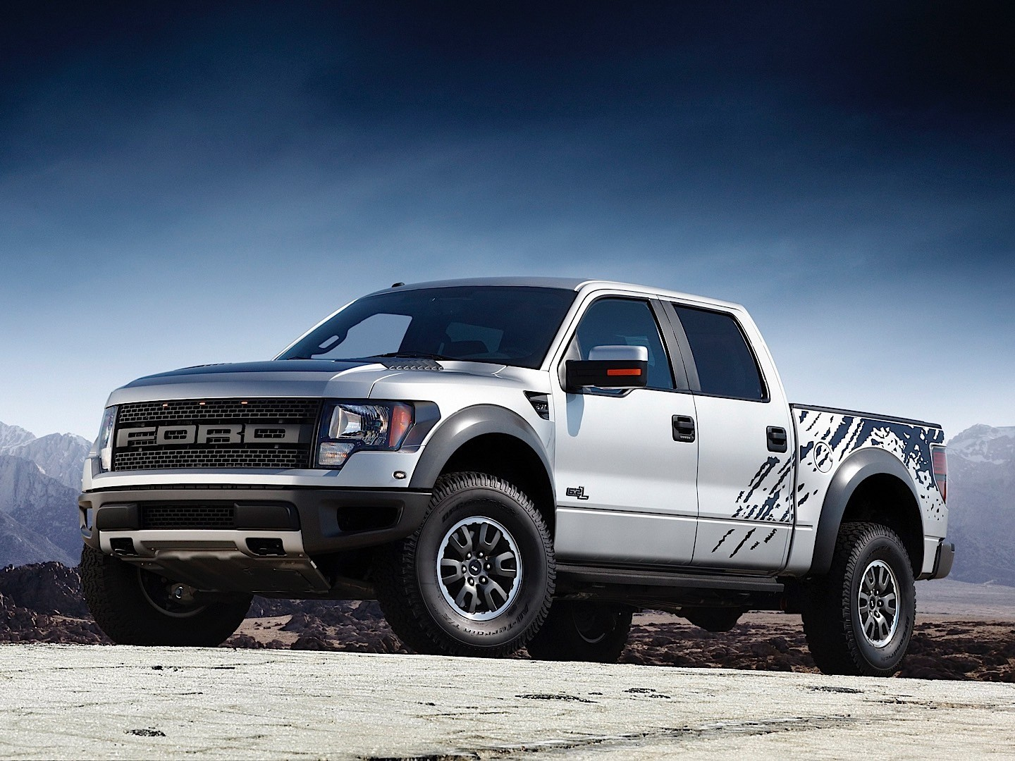 Ford f 150 raptor svt 2009 2013