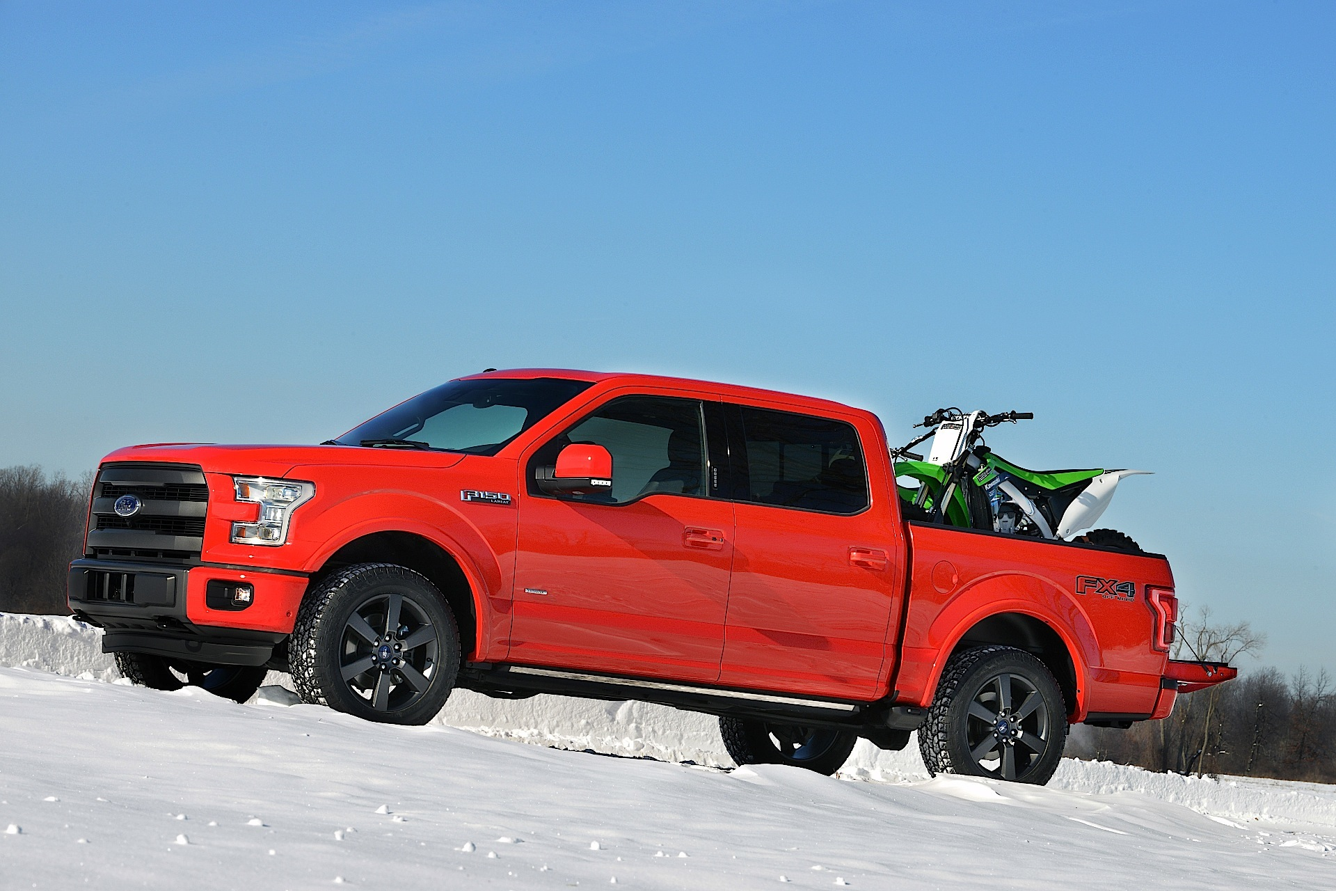 FORD F-150 Super Crew specs & photos - 2014, 2015, 2016 ...