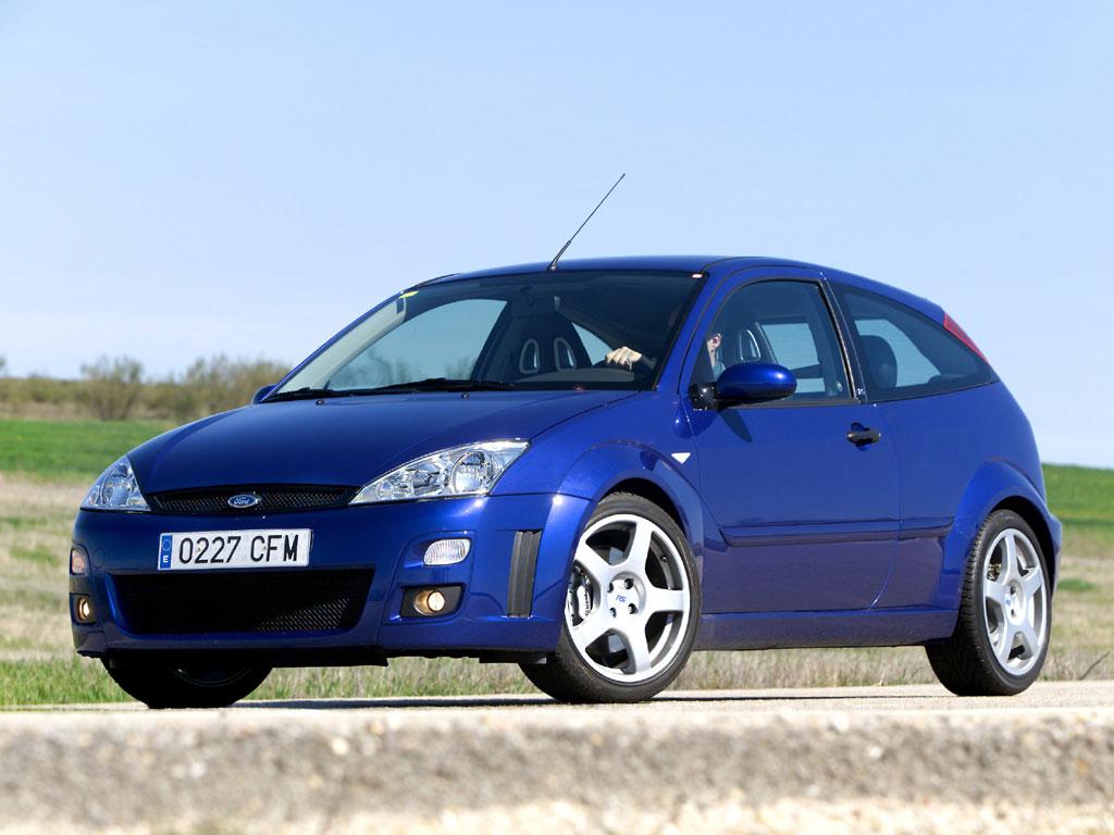 FORD Focus RS specs & photos - 2002, 2003 - autoevolution