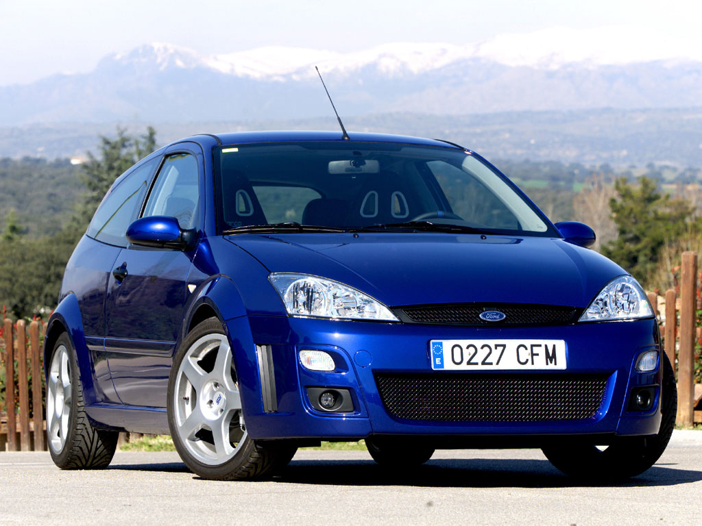 FORD Focus RS specs & photos - 2002, 2003 - autoevolution