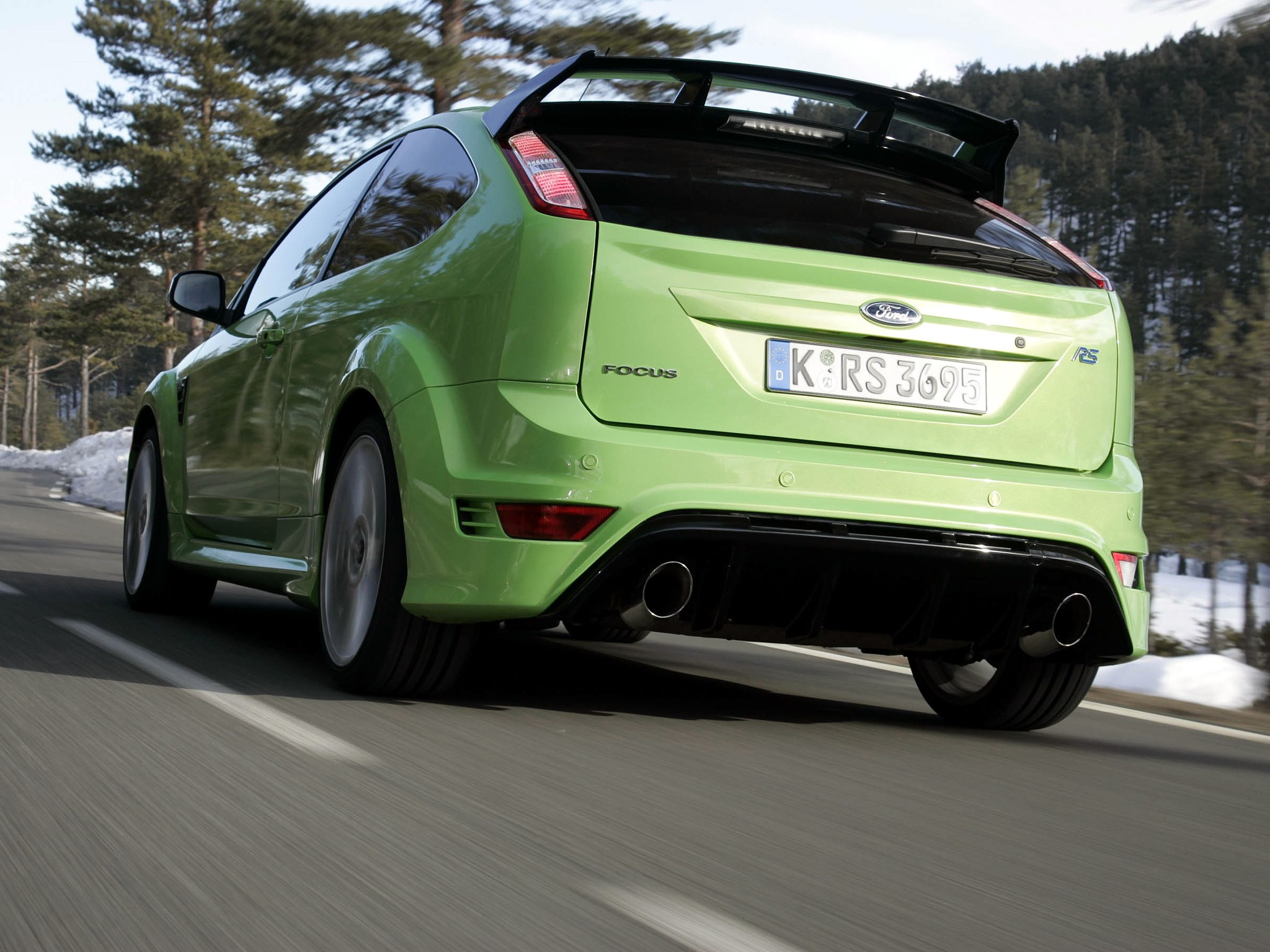 Ford Focus Rs Hp >> FORD Focus RS - 2008, 2009, 2010, 2011 - autoevolution