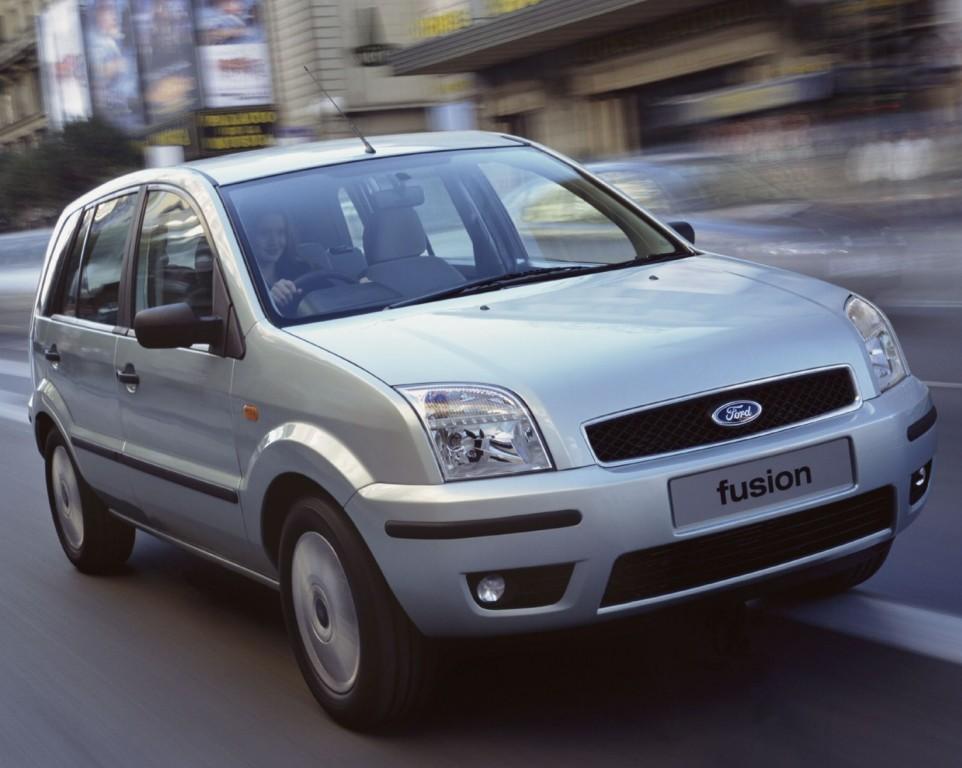 Ford Fusion European Specs 2002 2003 2004 2005