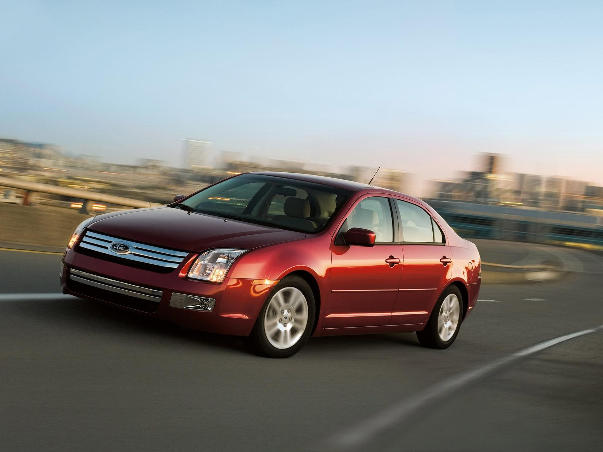 Ford Fusion North American Specs 2008 2009 2010 2011
