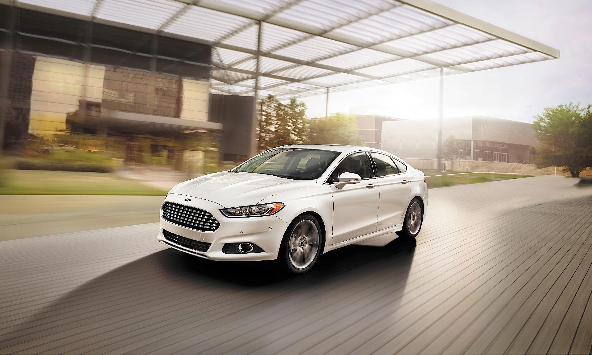 Ford Fusion North American 2017 2016