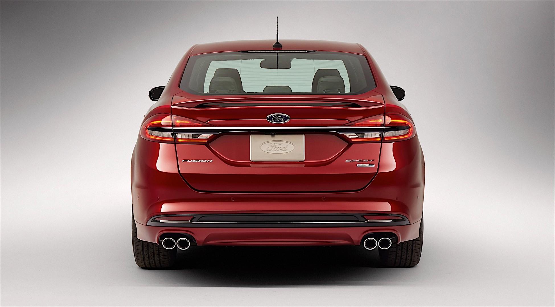 Ford Fusion North American 2016 2018