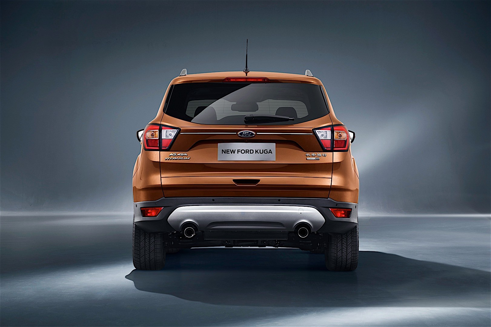 Focus St Towing >> FORD Kuga specs & photos - 2016, 2017, 2018 - autoevolution