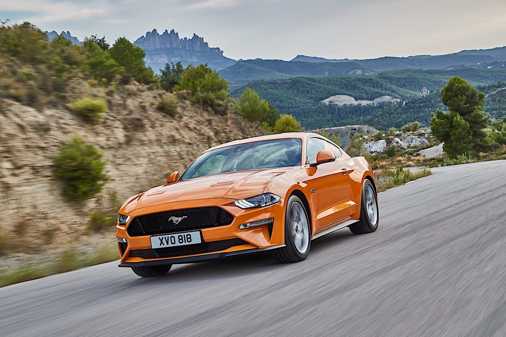 Ford mustang 2017 present