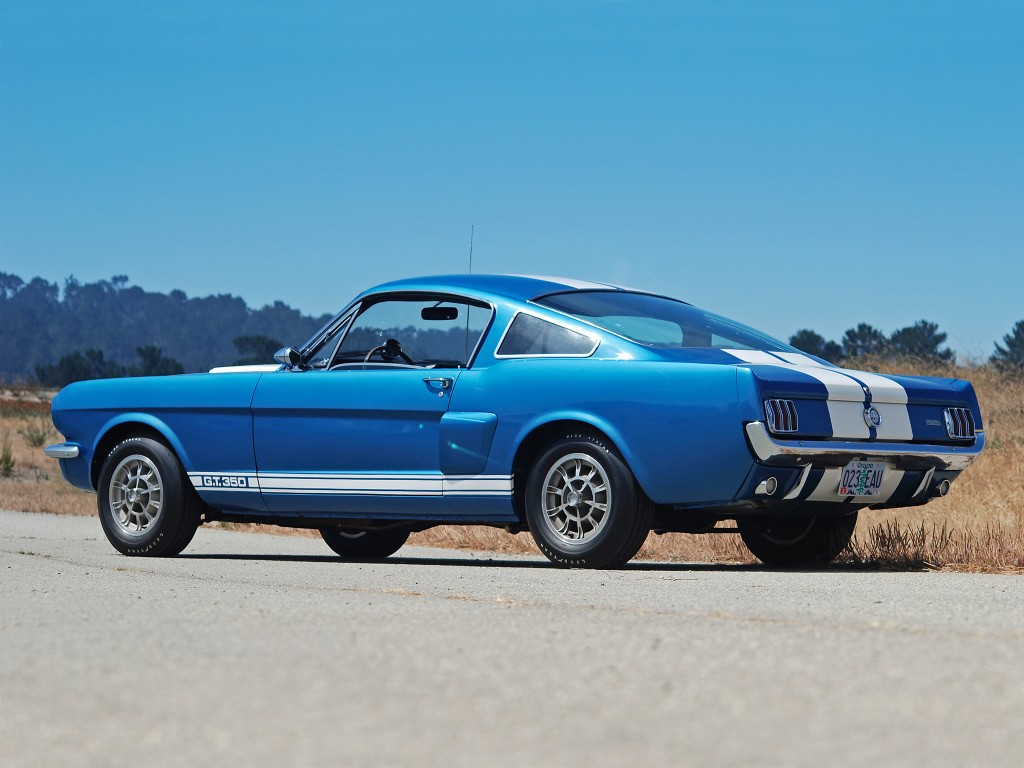 Ford mustang gt 350 shelby 1965