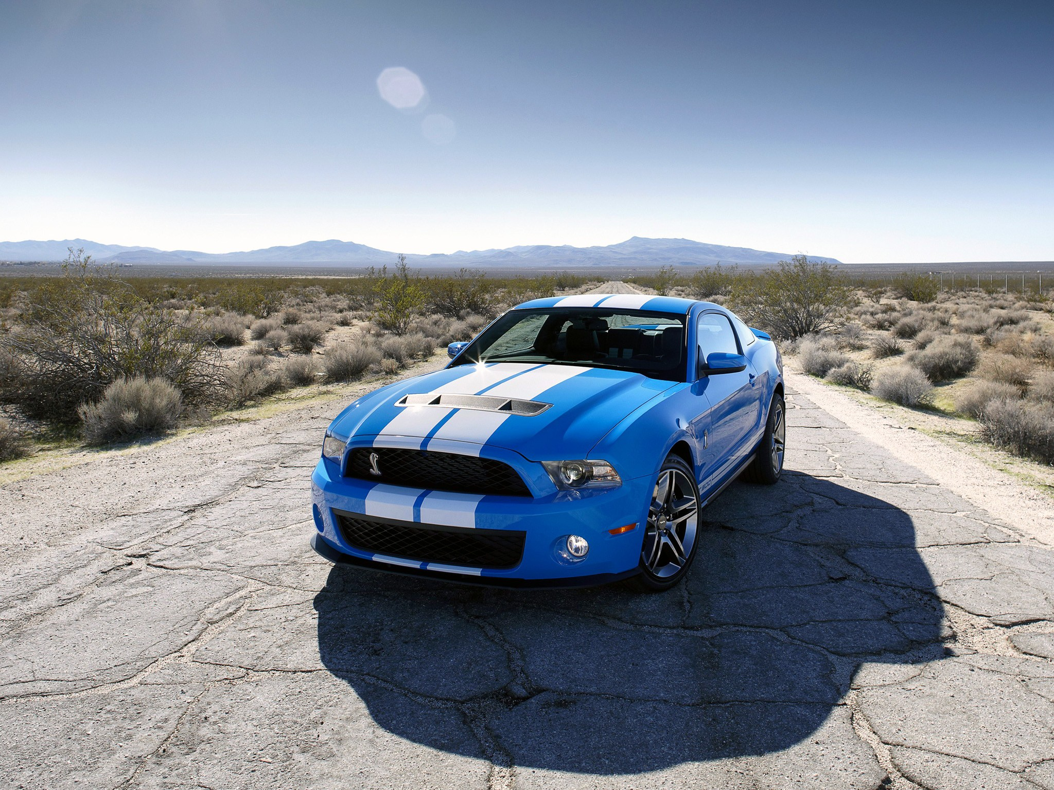 ford mustang shelby gt500 2009 2012
