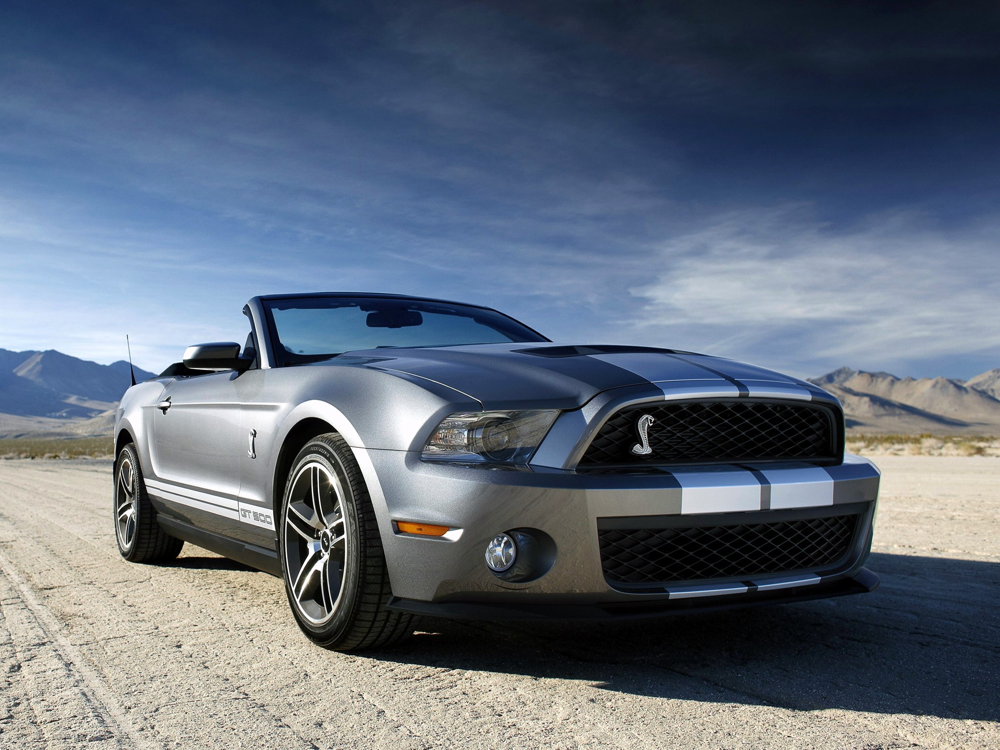 Ford Mustang Shelby Gt Convertible on Sterling V8 Engine