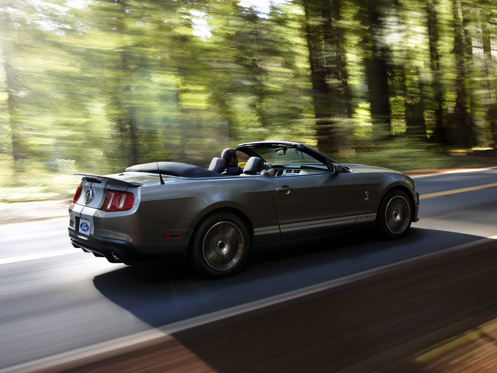 ford mustang shelby gt500 convertible 2009 2010 2011 2012 - Ford Mustang Convertible 2010