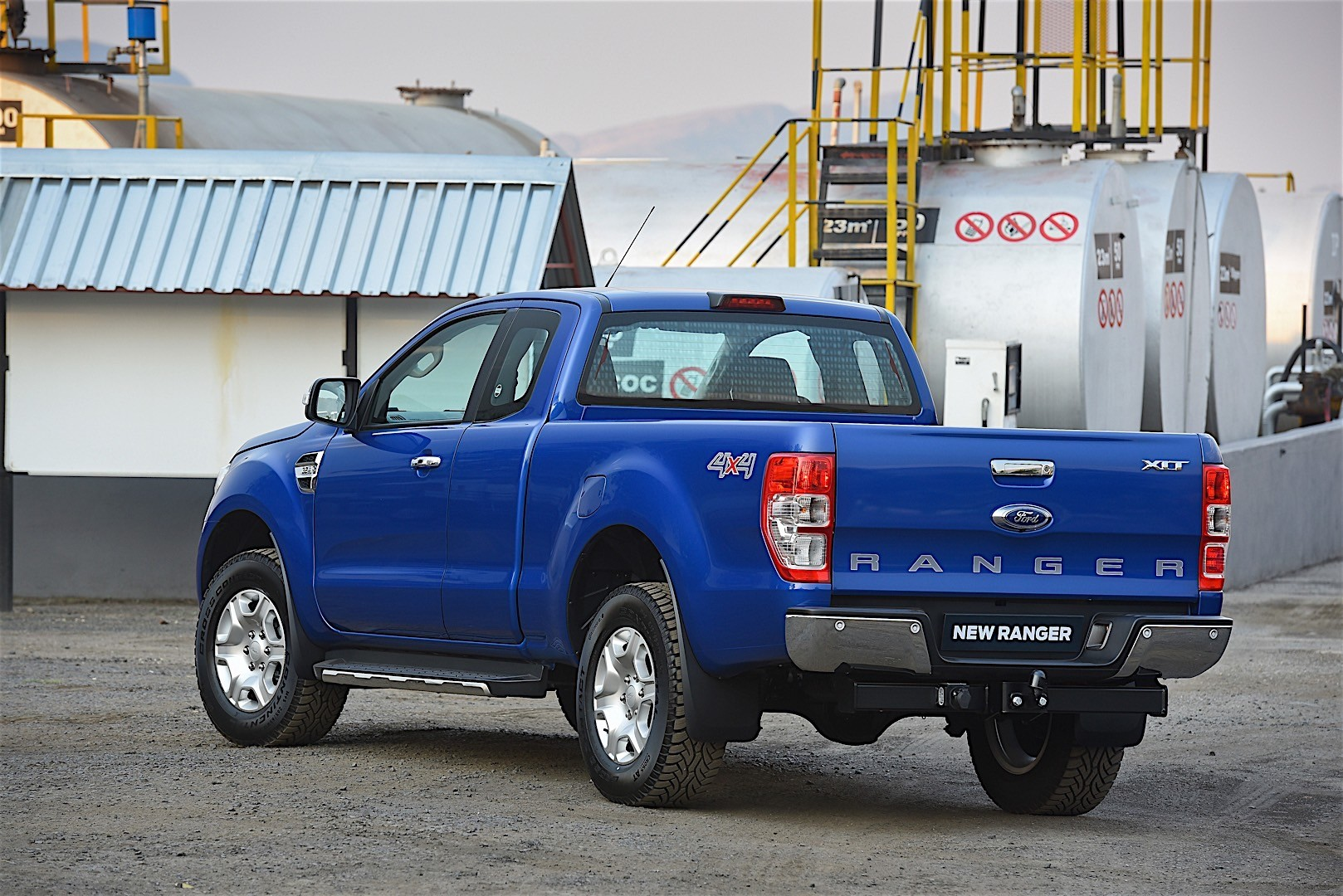 FORD Ranger Super Cab specs & photos - 2015, 2016, 2017, 2018, 2019 - autoevolution