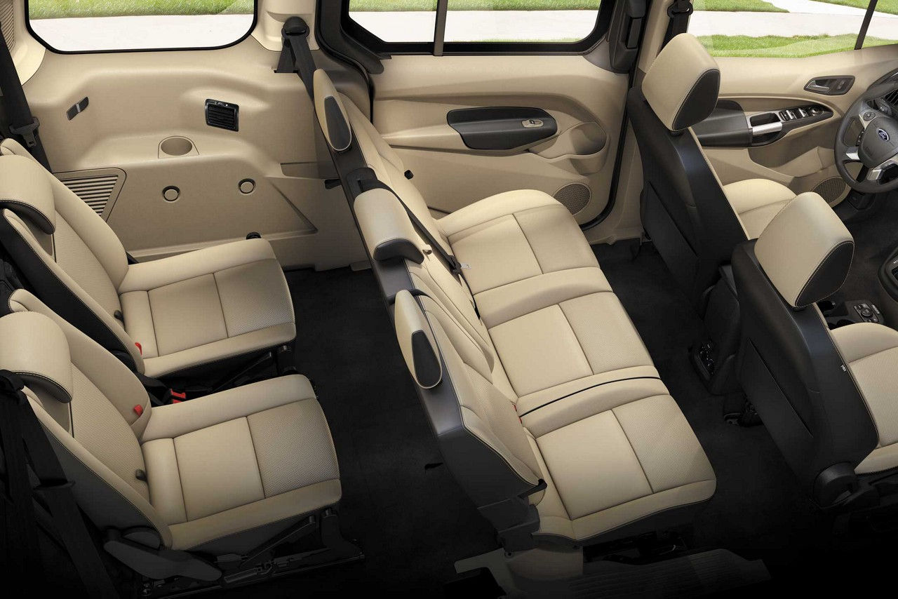 Ford Transit Tourneo Connect 7 Seats Specs Amp Photos