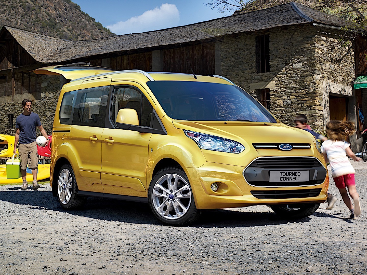 FORD Tourneo Connect specs & photos - 2013, 2014, 2015 ...