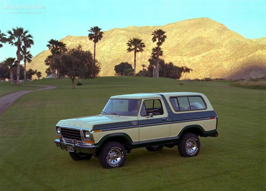Ford Bronco 1978 1979 Autoevolution