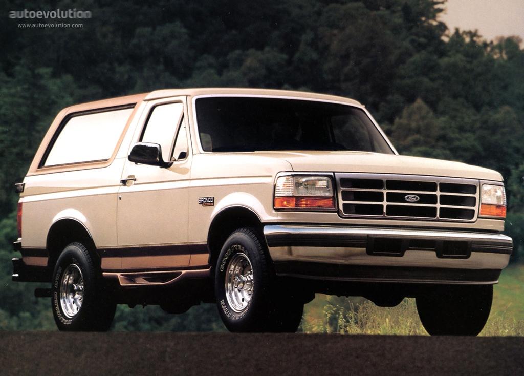Ford bronco 1992 1993 1994 1995 1996 autoevolution