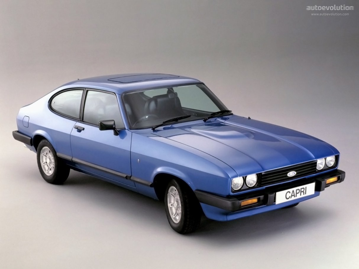 FORD Capri specs & photos - 1978, 1979, 1980, 1981, 1982 ...