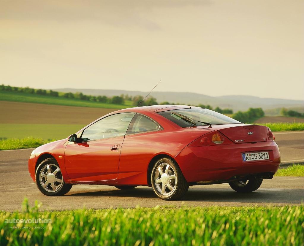 Ford Cougar 1998 1999 2000 2001 Autoevolution