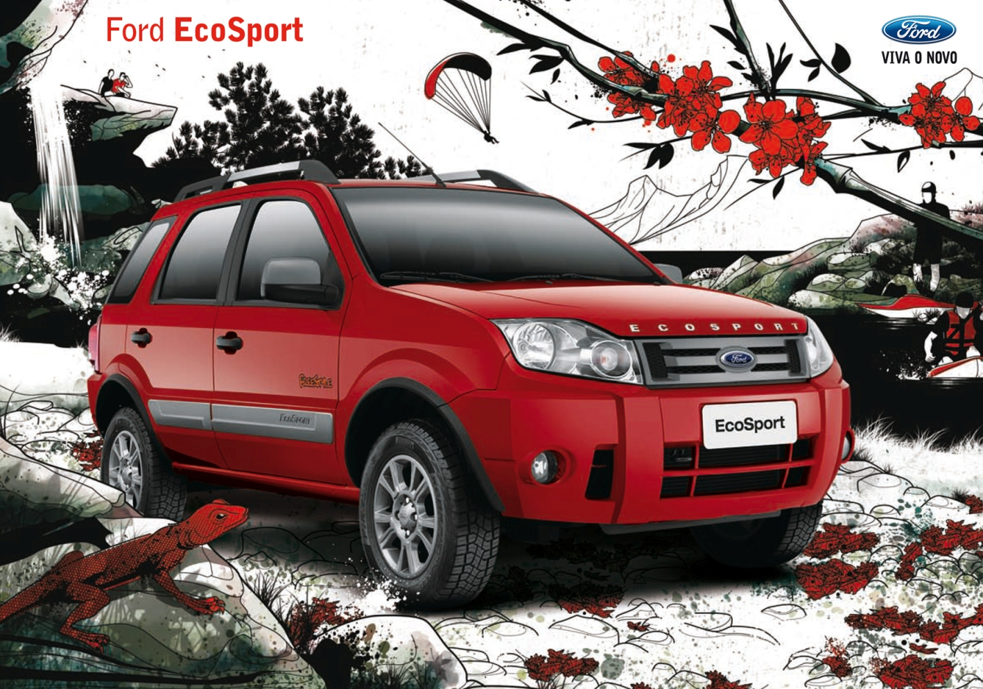 FORD EcoSport specs & photos - 2004, 2005, 2006, 2007, 2008, 2009, 2010, 2011, 2012 - autoevolution