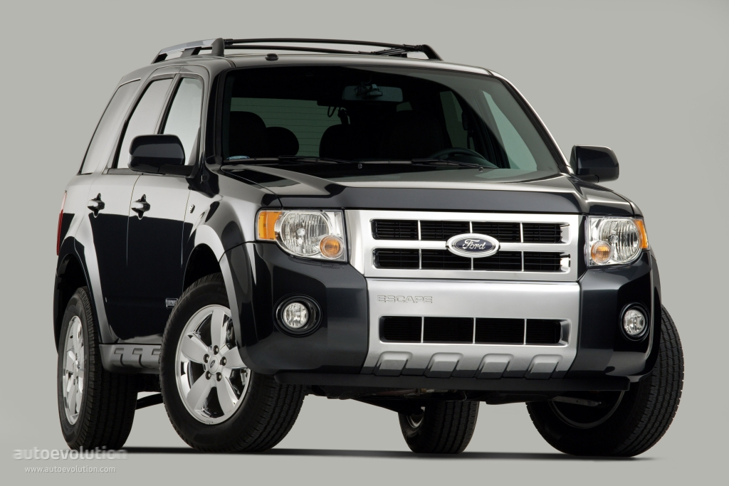 ford escape specs 2007 2008 autoevolution. Black Bedroom Furniture Sets. Home Design Ideas