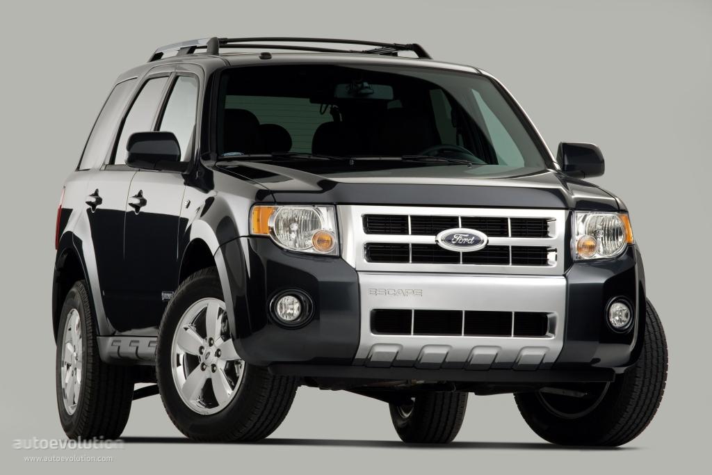 Ford escape specs 2007 2008 autoevolution